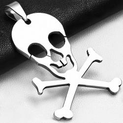 Pendentif homme crâne de pirate